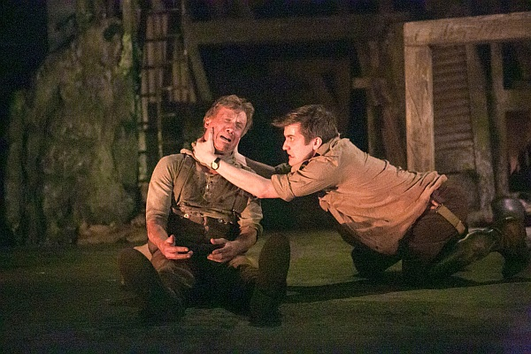 BIRDSONG - 2014 UK TOUR - Peter Duncan as Jack Firebrace and George Banks as Stephen (Photo credit Jack Ladenburg)
