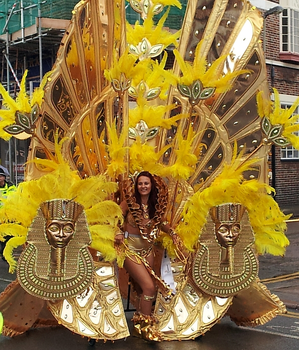 Lead Dancer, Caribbean Carnival, 2014