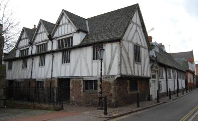 Leicester's medieval Guild Hall