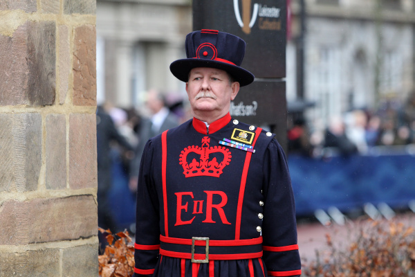 A Yeoman of the Guard at the Cathedral Photo Diocese of Leicester