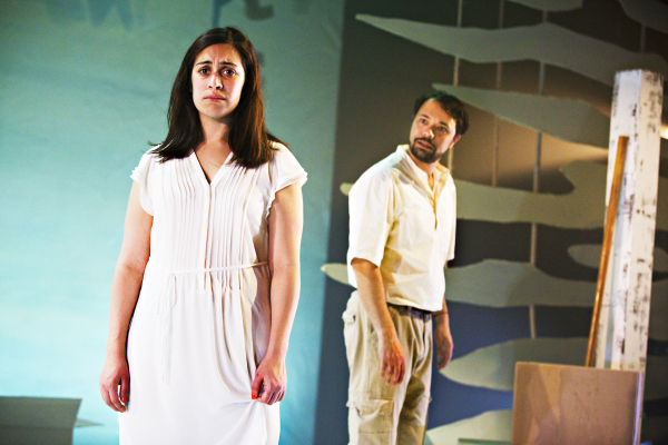 Emily Lloyd-Saini as Shiv and Andrew Joshi as Bapu Pamela Raith Photography