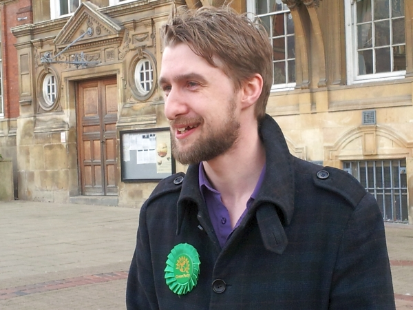 Tim Grayson is standing for Mayor of Leicester