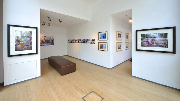 The exhibition area and gallery at The LCD Depot