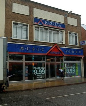 Ainleys music shop