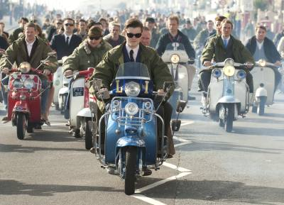 Scene from the 2010 film Brighton Rock