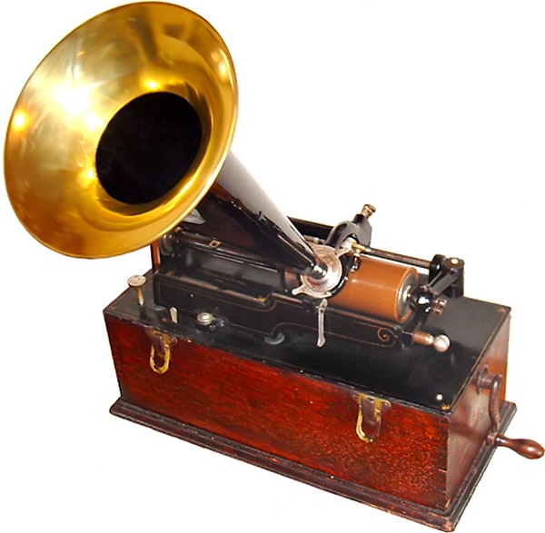 an early phonograph