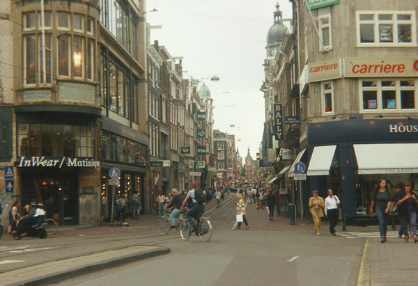 A street in Amsterdam, 1997