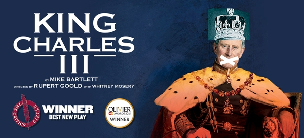 King Charles III is at Curve theatre Leicester